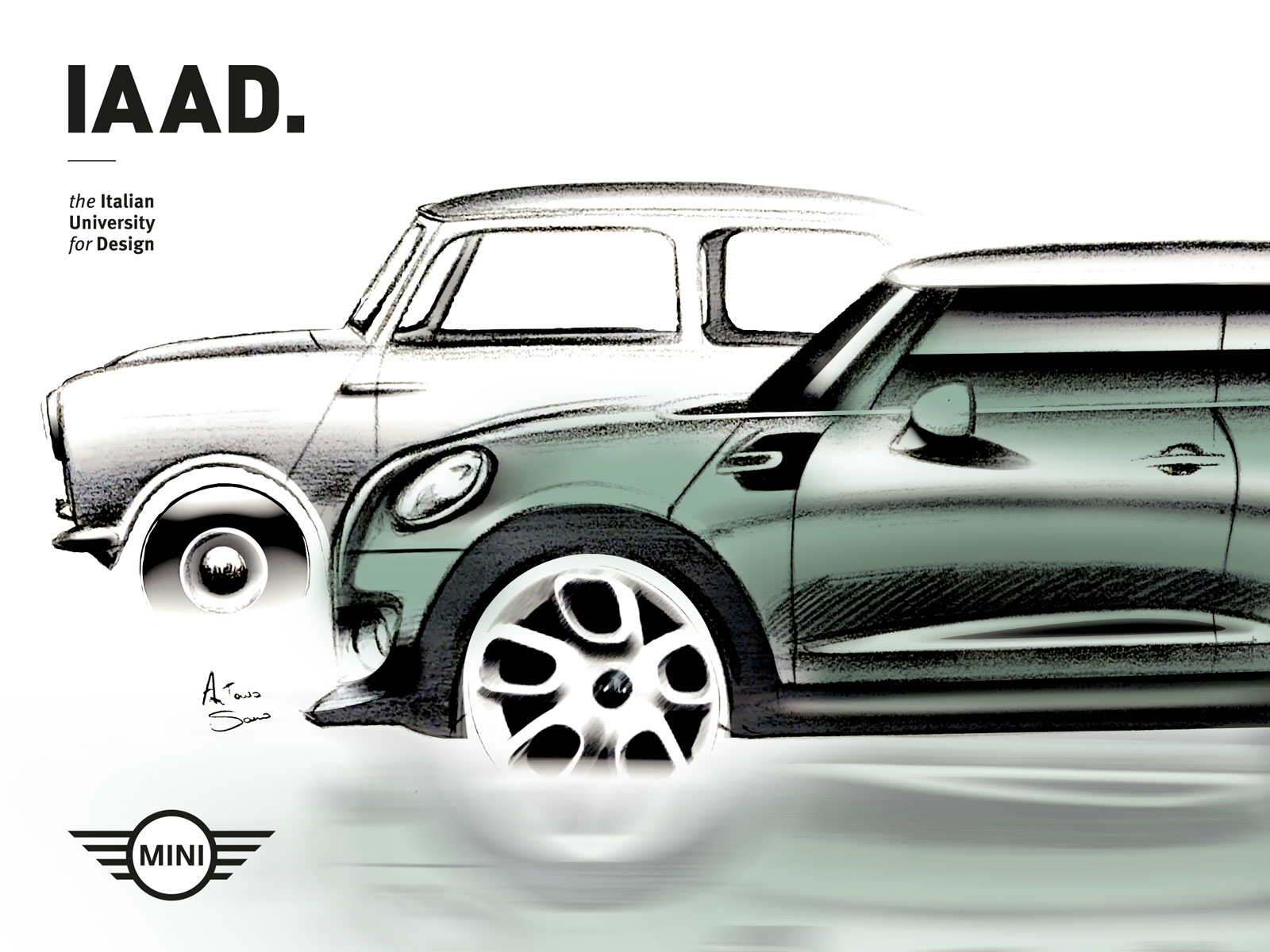 Design The Next Mini Cooper And Win A Scholarship For Iaad S Transportation Bachelor Degree Course Car Body Design