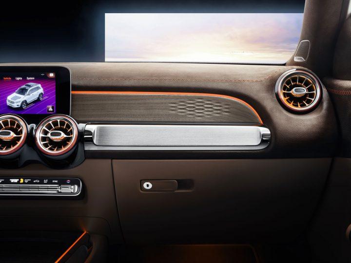 Mercedes-Benz Concept GLB Interior