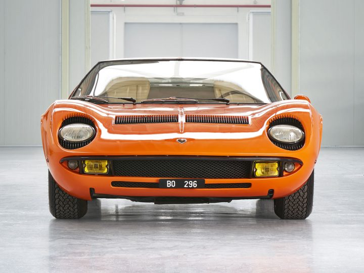 "Lamborghini Polo Storico restores Miura from ""The Italian Job"""