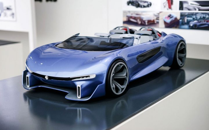 2018 MG Bris Concept design scale model by Trym Abrahamsen