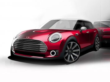 The restyled MINI Clubman