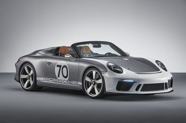 2019 the 2018 911 Speedster Concept goes into production