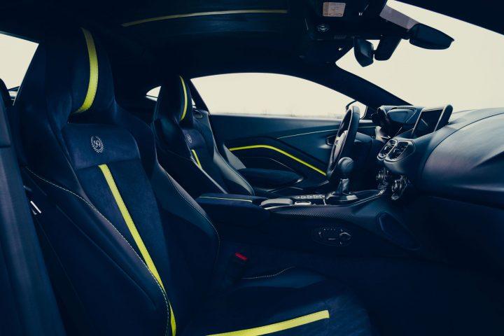 Aston Martin Vantage AMR Interior Design