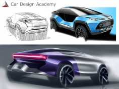 Learn car design online with Car Design Academy