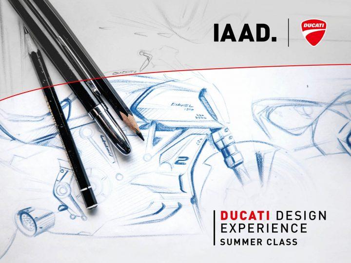 Ducati Design Experience Summer Design Course Poster