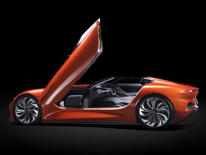 Karma SC1 Vision Concept is a futuristic roadster built for California roads