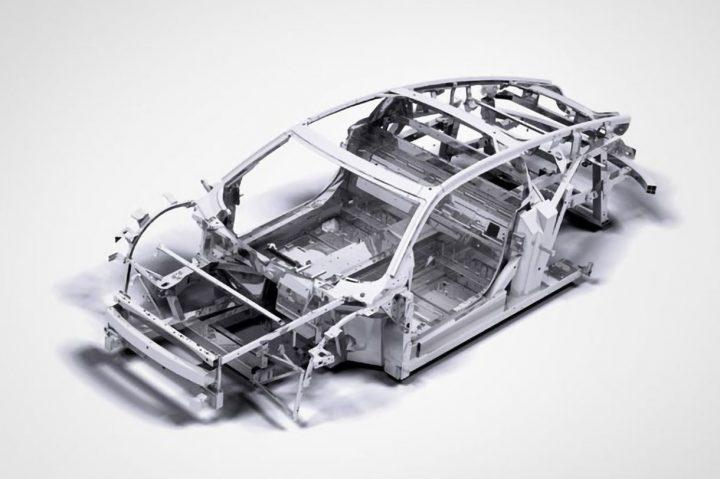 Mullen Qiantu K50 Aluminum Spaceframe Structure