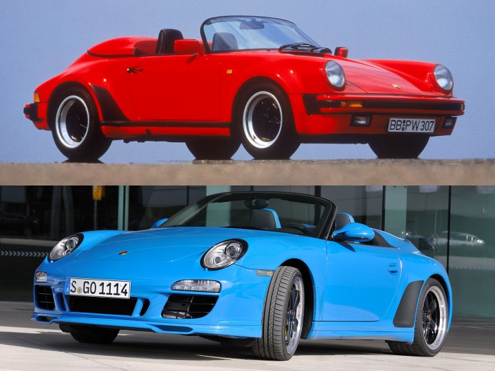 The history of the Porsche Speedster