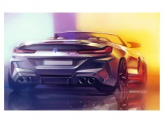 BMW M8 and M8 Competition: photos and design sketches