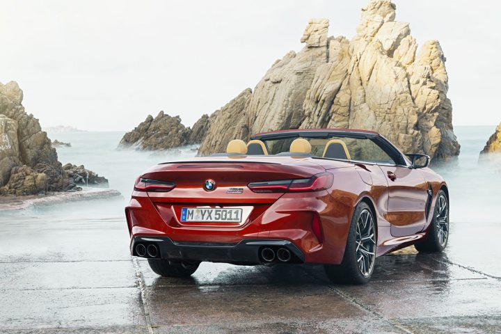 BMW M8 Convertible Exterior Design