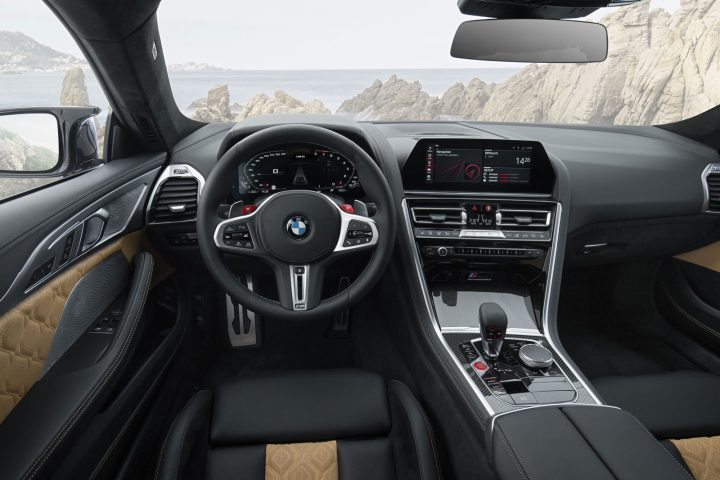 BMW M8 Coupe Interior Design