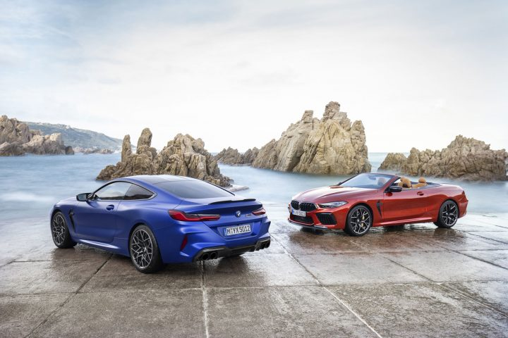 BMW M8 Coupe and Convertible