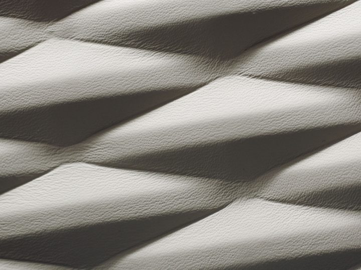 Bentley previews 3D leather texture