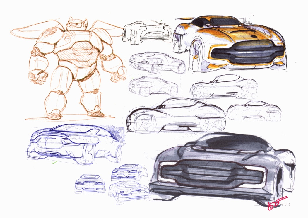 Concept Design Sketches by Agri Bisono