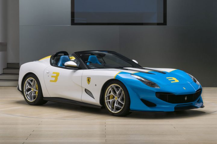 Ferrari SP3JC Exterior Design
