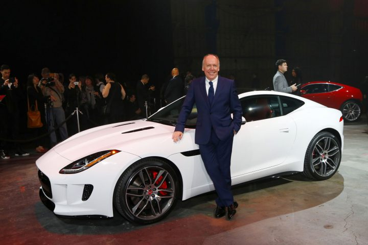 Ian Callum and Jaguar F TYPE Coupe