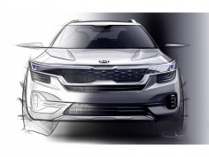 Kia teases new compact SUV and restyled Cadenza with design sketches