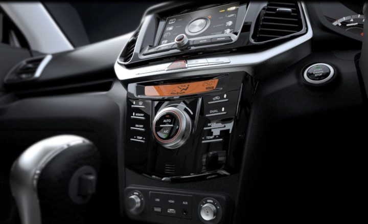 Mahindra XUV300 Interior Center Console Detail