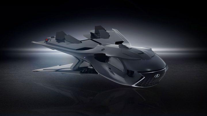 Men in Black International Lexus Jet Concept