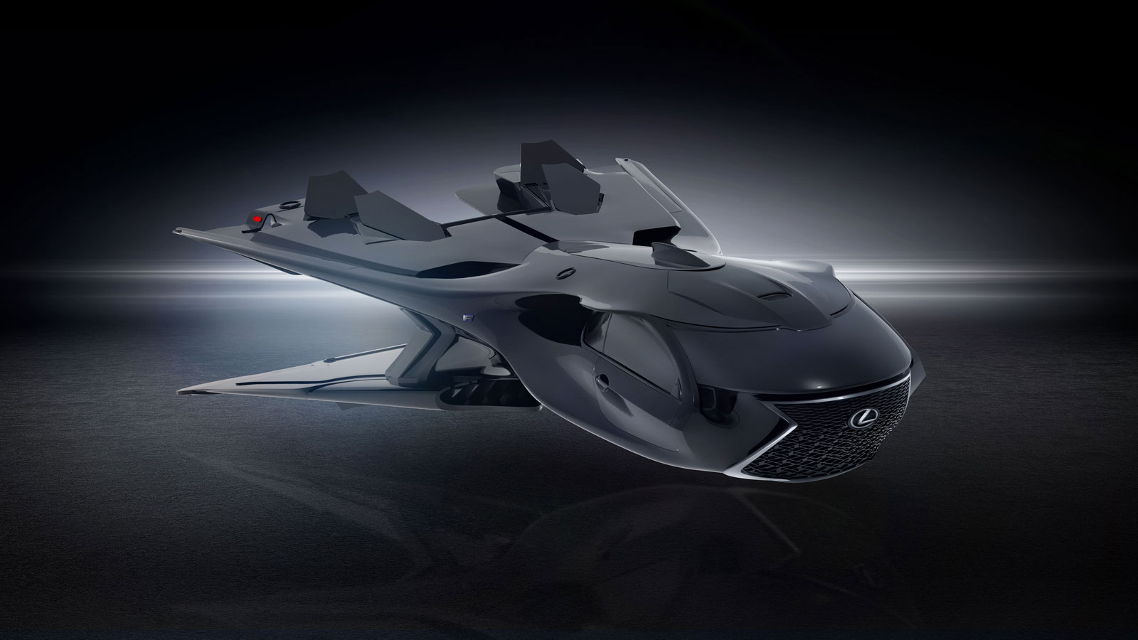 Men In Black International Lexus Jet Concept Car Body Design