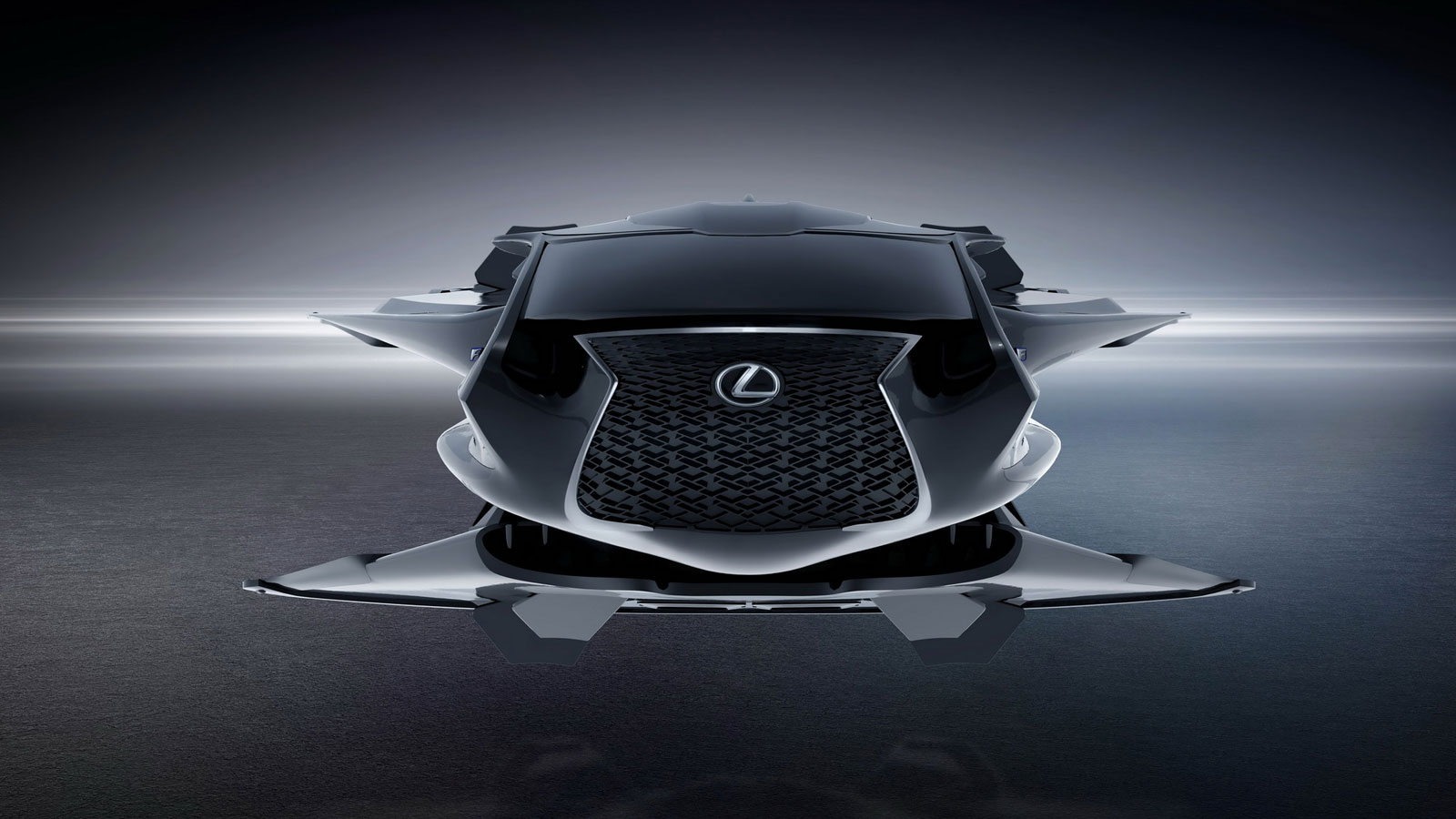 Men in Black International Lexus Jet Concept - Car Body Design