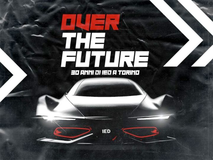 Over the Future IED Exhibition Poster