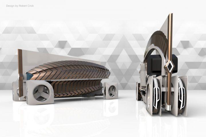 Renault Fold Concept Design Board