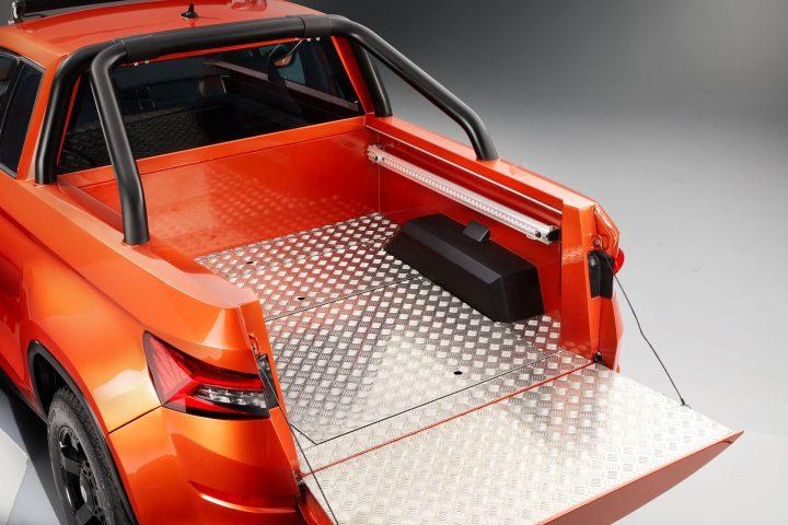 Skoda Montiaq Concept Cargo Bed Storage