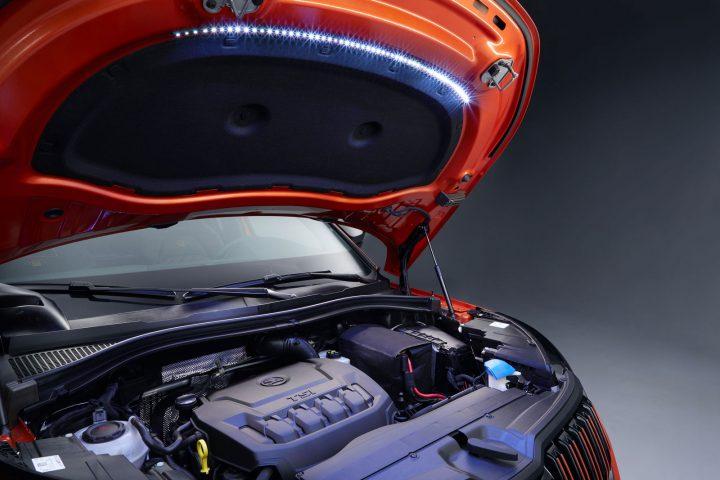 Skoda Montiaq Concept Engine Lighting
