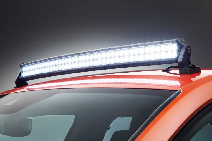 Skoda Montiaq Concept Light Bar