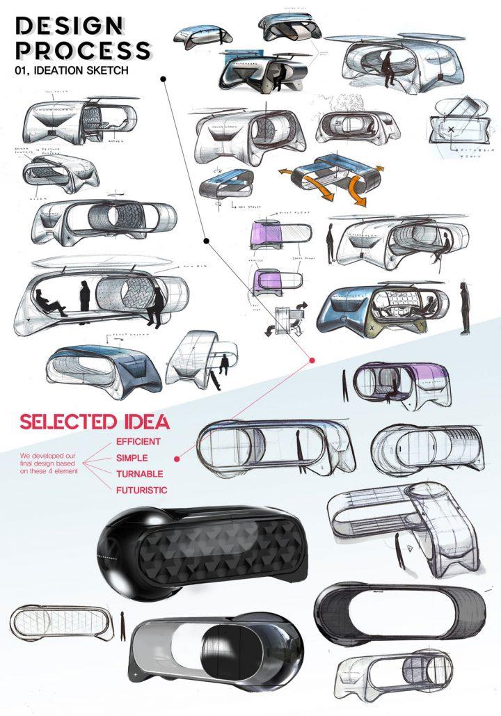 Volkswagen Depot Concept Design Panel