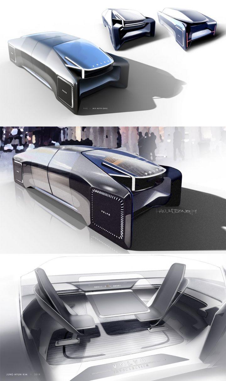 Volvo Intersection Concept Design Board