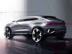 Audi Q3 Sportback: the design