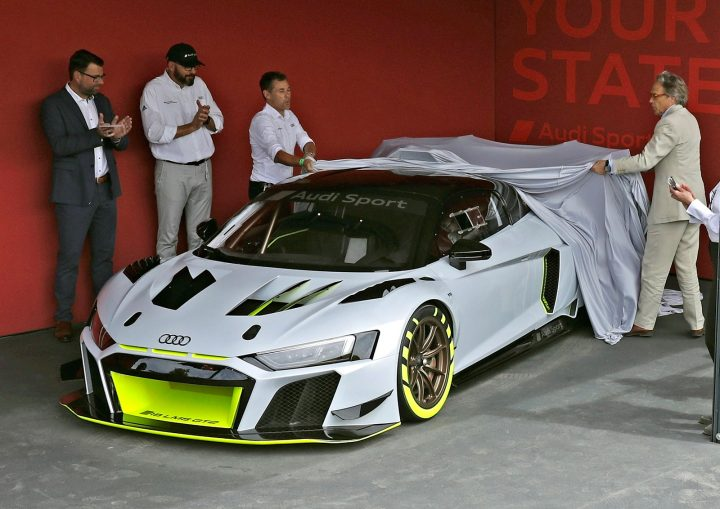 Audi R8 LMS GT2 revealed at the 2019 Goodwood Festival of Speed