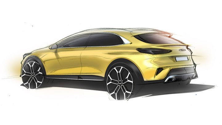 Kia XCeed Design Sketch