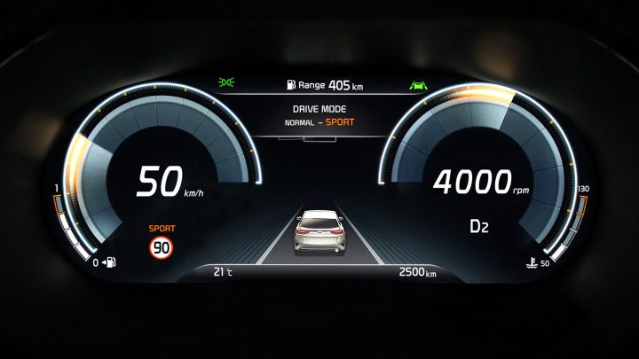 Kia XCeed Interior Digital instrument cluster