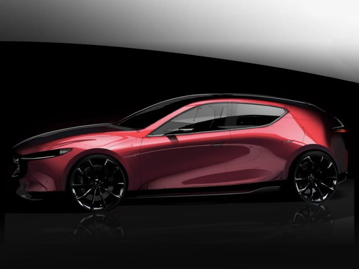 Mazda 3 Photoshop Render Demo