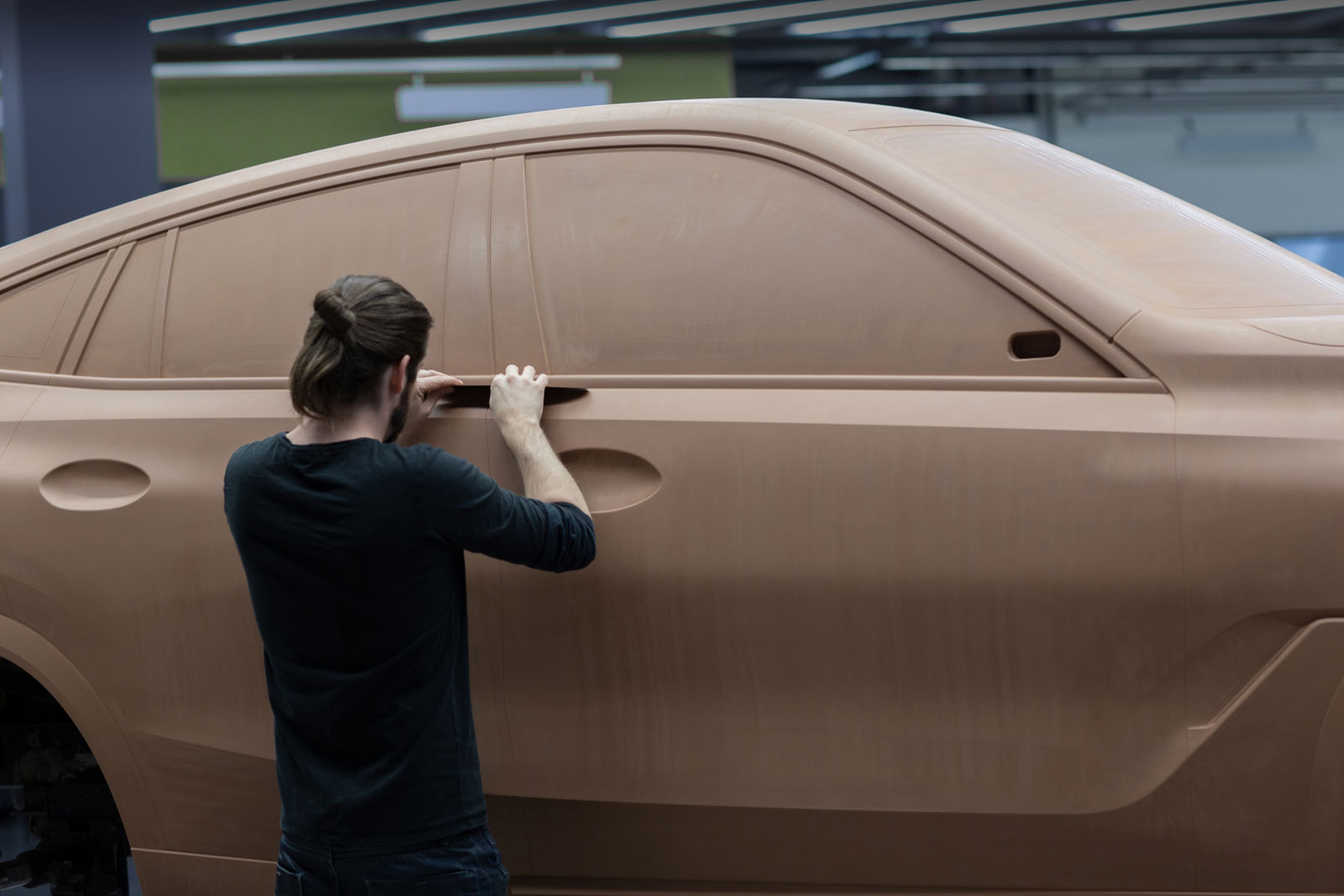 New BMW X6 Design Process Clay Modeling