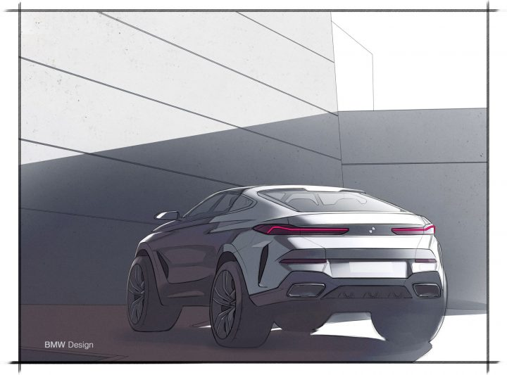 New BMW X6 Design Sketch