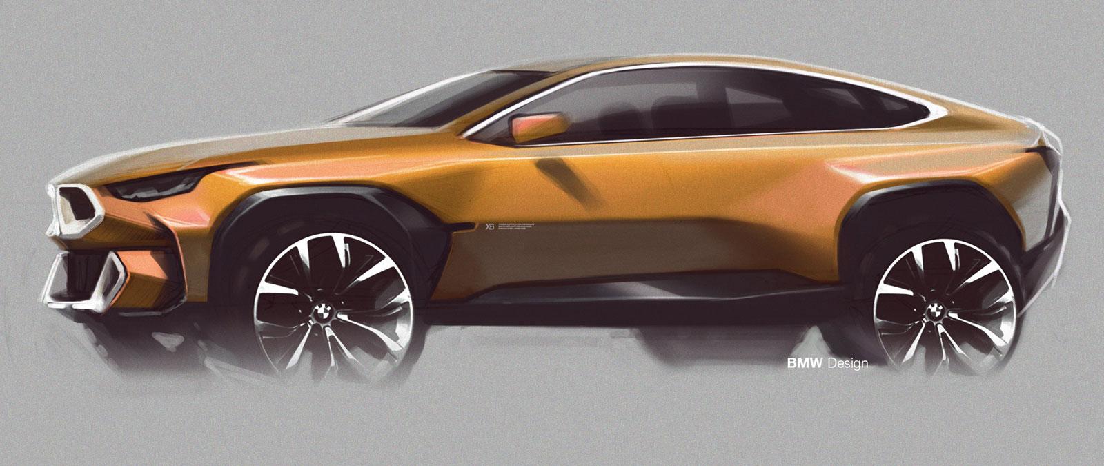 New Bmw X6 Design Sketch Car Body Design