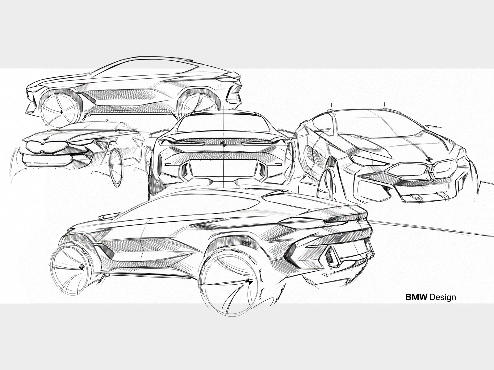 New BMW X6 Design Sketches