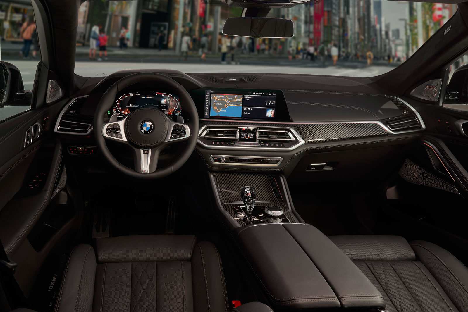 New BMW X6 Interior