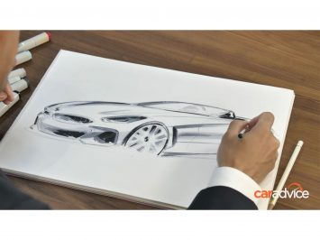 BMW Z4 Design Sketch by Calvin Luk