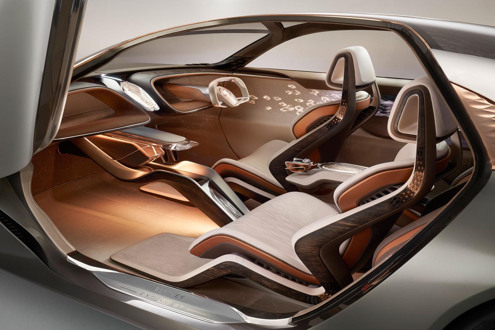 Bentley Exp 100 Gt Concept Interior Design Car Body Design