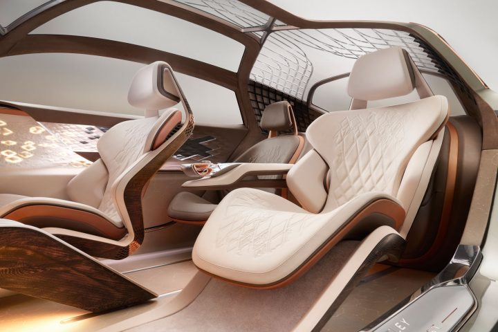 Bentley EXP 100 GT Concept Interior Design