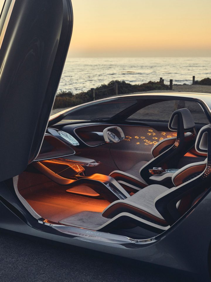 Bentley EXP 100 GT Concept at Monterey Car Week