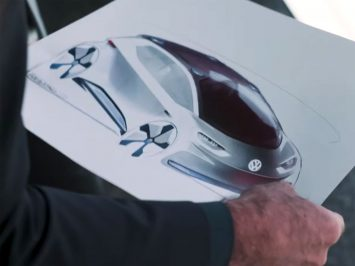Volkswagen ID Design Sketch