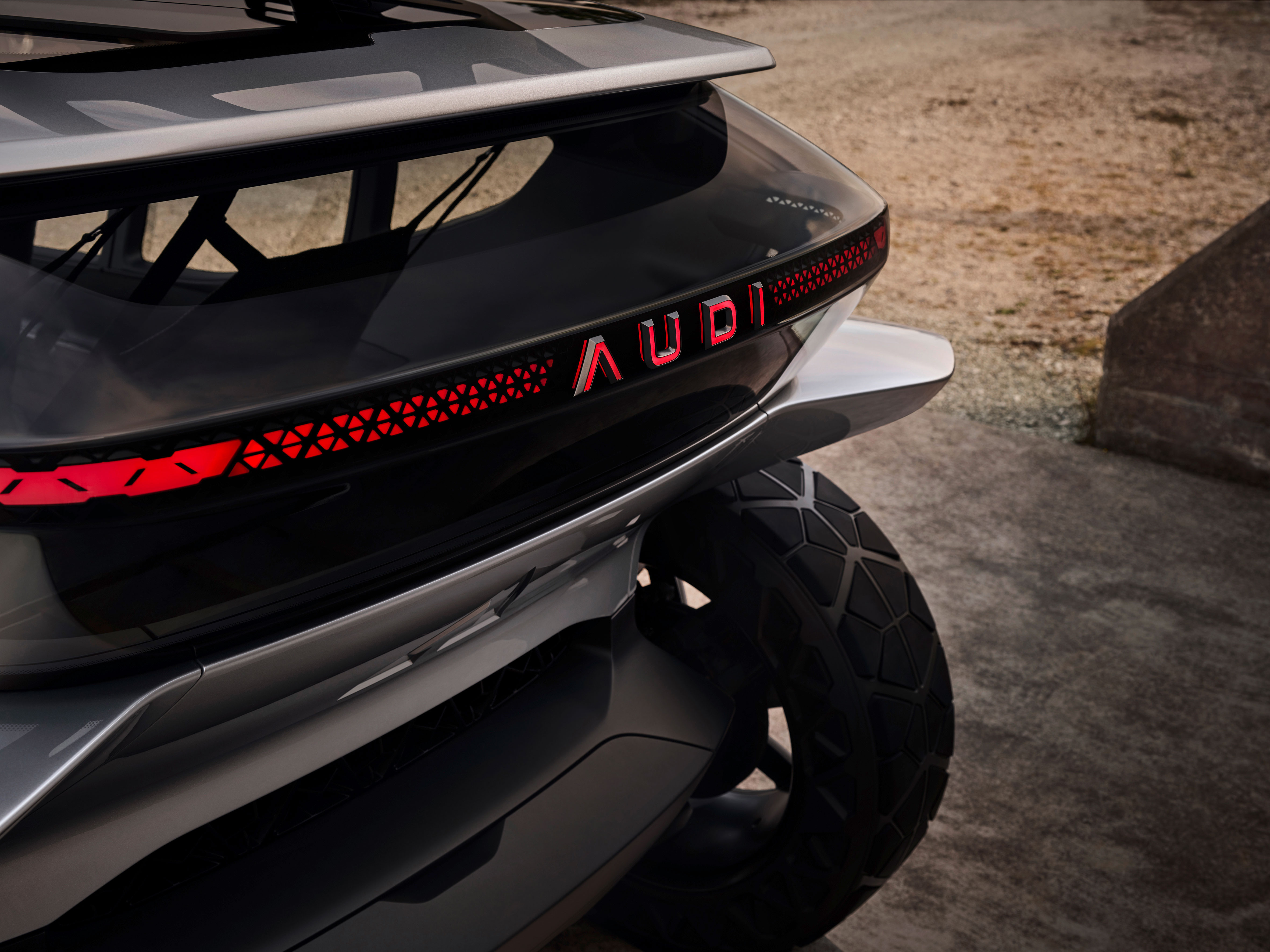Audi AI Trail quattro Concept Design Tail Lights