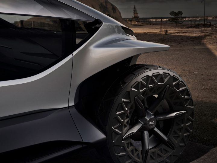 Audi AI Trail quattro Concept Wheel Design