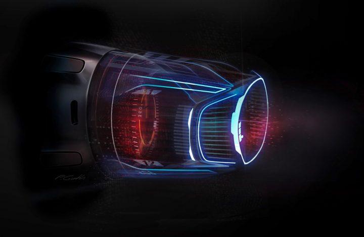 Mercedes-Benz Vision EQS Digital Design Detail